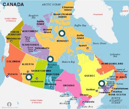 Canada este a doua țară ca suprafață și unul dintre cele mai bogate state ale lumii