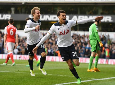 Flying high: Tottenham are a team on the rise