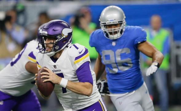 El sorpresivo,Case Keenum, está jugando a nivel de MVP en esta campaña. Vikings.com.