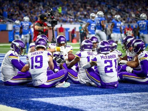 Los Vikes son un equipo sólido y tal vez mejor que los Eagles de Philadelphia en la NFC. Vikings.com.