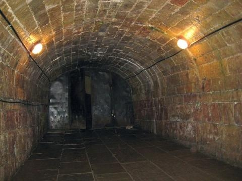 An underground tunnel (Image credit: Alexandrov, Wikimedia Commons)