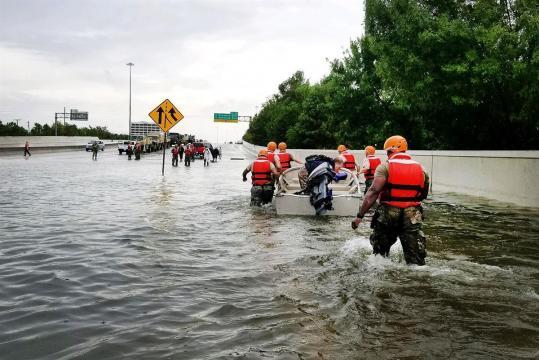 FBI.gov - Texas Army National Guard aid residents in Hurricane Harvey