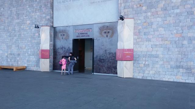 La sala 1 del Museo Nacional de Antropología e Historia.