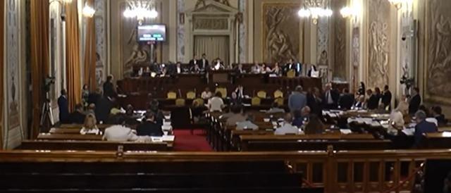 L'aula dell'Assemblea regionale siciliana