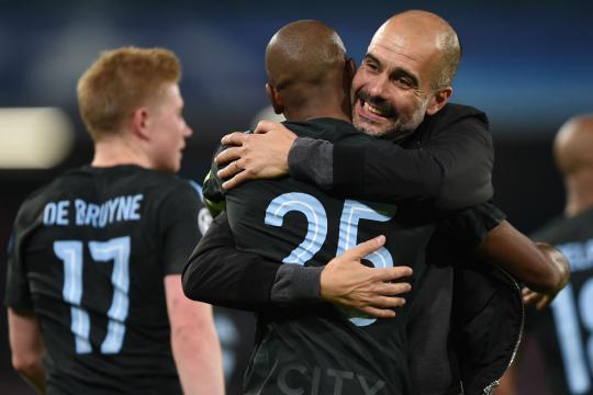 Pep Guardiola consigue su cuarta victoria consecutiva