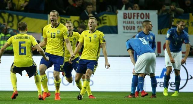 Suecia está a 90 minutos de su 12va participación en Mundiales. Ambito Financiero.com.