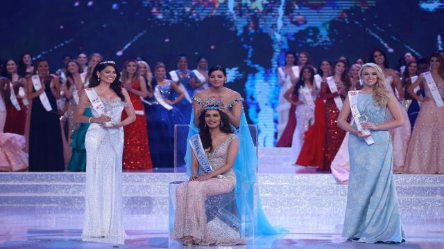 Manushi is crowned Miss World in China.( Image credit -Youtube)