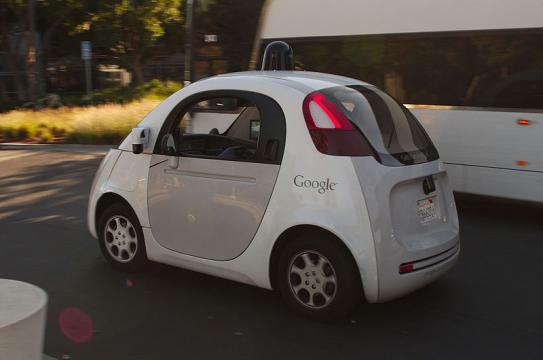 Google self-driving car ((Image credit – Michael Shick, Wikimedia Commons)