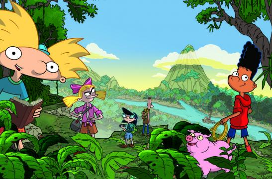 'Hey Arnold!: The Jungle Movie' will debut on Nickelodeon at 7pm on Friday, November 24, 2017. / Image via Nickelodeon, used with permission.