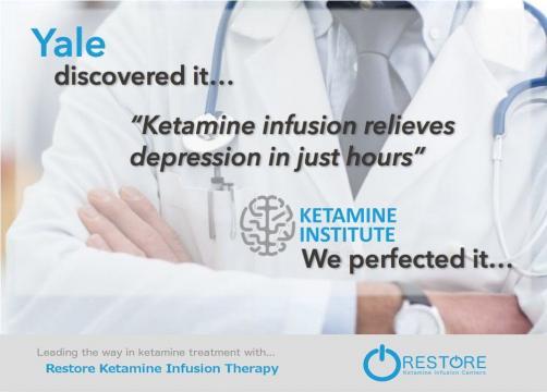 Ketamine Infusion Treatment for Depression - Rapid relief of ... - ketamineinstitute.com
