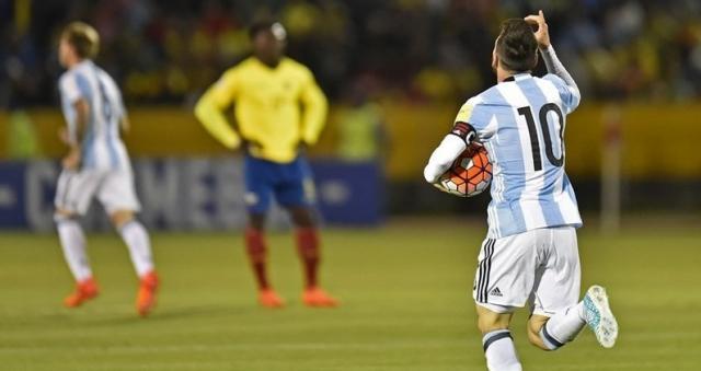 Messi se encargó personalmente de adquirir el boleto a 'Rusia 2018'. 'Hat-Trick' clave ante Ecuador (Foto: Info News)