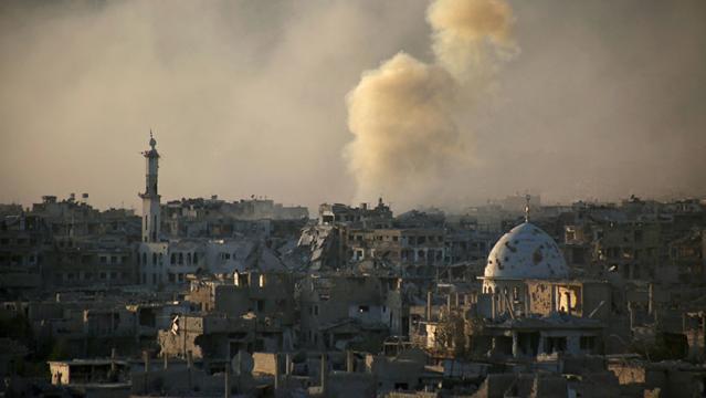 Operaciones militares en Siria