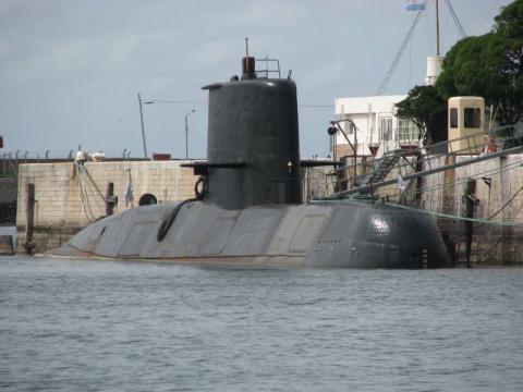 El submarino desaparecido en puerto antes de su última singladura