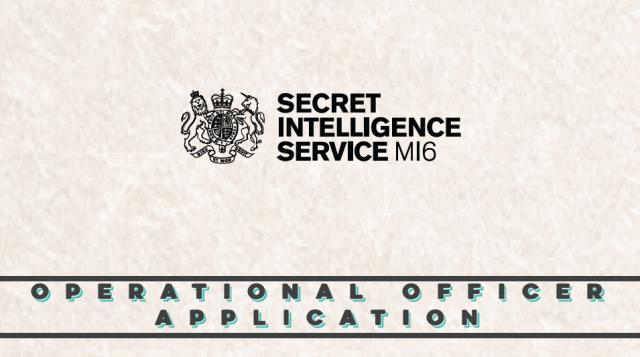 Le MI6 cherche des agents opérationnels