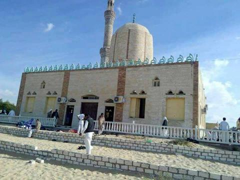 Militants bomb mosque in Egypt, killing at least 85 - The Boston Globe - bostonglobe.com