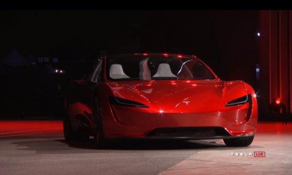 A nova geração do Roadster foi anunciada de surpresa