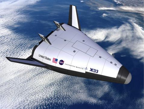 Boeing and Airbus Industries Nautilus pensado en ser una nave que sustiruya los transbordadores