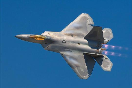 F-22 Raptor advanced stealth fighter