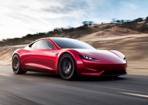 O Tesla Roadster possui um design funcional e sem firulas