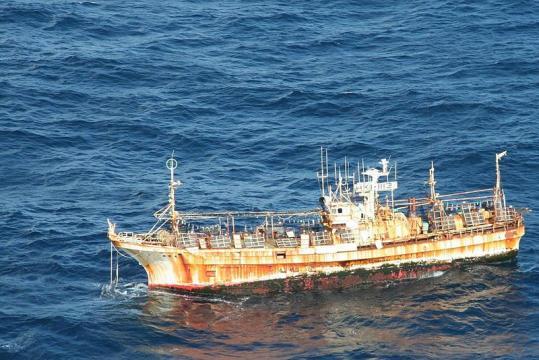 Fishing boat adrift (Image credit – Air Station Kodiak, Wikimedia Commons)