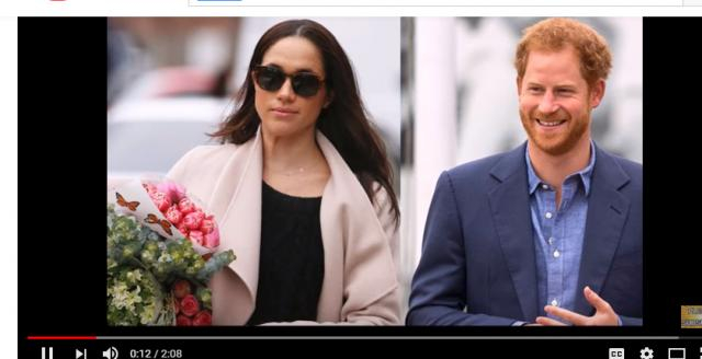 Megan Markel is engaged to Prince Harry. (Image via Current Affairs Youtube screenshot).