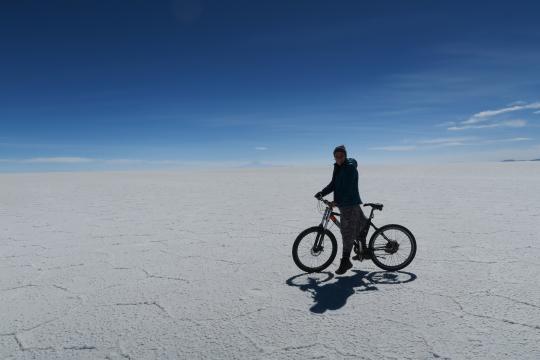Salar de Uyuni, Bolivia (foto: Alicia Sansalvador)