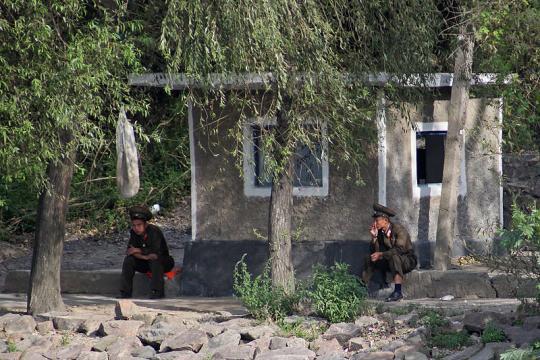 Border guards of North Korea (Image credit – Roman Harak, Wikimedia Commons)