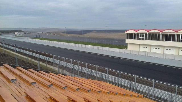 Circuitul de viteză Transilvania Motor Ring înainte de recepția finală
