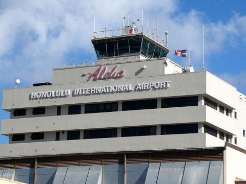 Honolulu International Airport (Image credit – redlegsfan21, Wikimedia Commons)