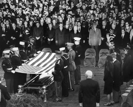Il funerale del presidente americano John F. Kennedy