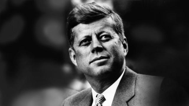 Il presidente americano John F. Kennedy