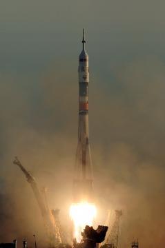 Lançamento da Soyuz TMA 8. Foto: NASABill Ingalls