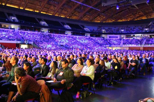 Muito público presente na Altice Arena