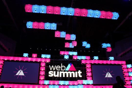 O Web Summit arrancou hoje, dia 6 de novembro