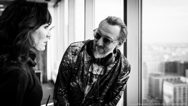 Reżyser Bodo Kox z aktorką Olgą Bołądź (fot. Bartosz Mrozowski)