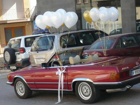 Adornos para el coche de los novios | Bodas - facilisimo.com