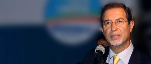 Nello Musumeci, candidato presidente della Regione Siciliana per il centrodestra