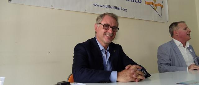 Roberto La Rosa, candidato a Palazzo d'Orleans con il movimento 'Siciliani Liberi'