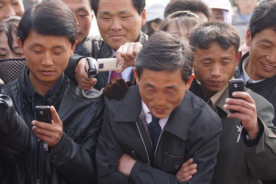 North Korea Cell Phone Revolution (Image credit – Joseph Ferris III, Wikimedia Commons)