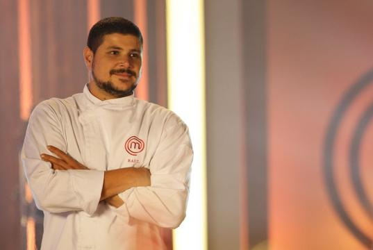 Raul ficou em segundo lugar na 2° temporada do ''Masterchef''