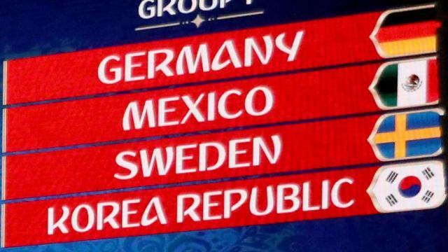 WM 2018: Deutschland spielt gegen Mexiko, Schweden und Südkorea ... - tz.de