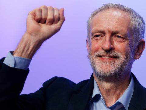 Il leader britannico laburista Corbyn