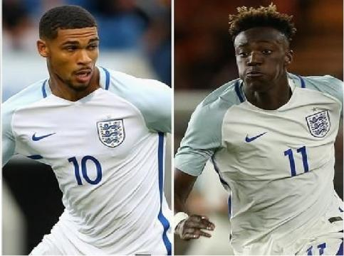 Ones to Watch: Loftus-Cheek (L) and Abraham have long careers ahead of them