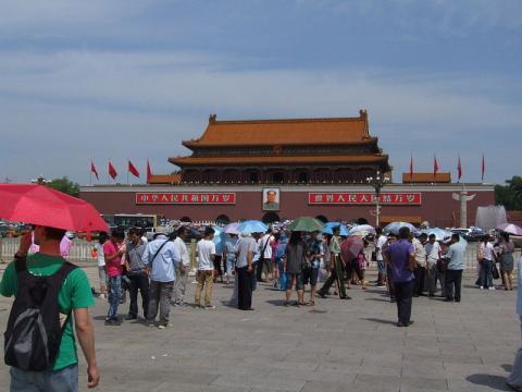 Tiananmen Square (Image credit – Nicor, Wikimedia Commons)