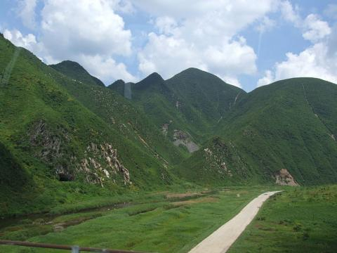 Mountain in North Korea (Image credit – Nicor, Wikimedia Commons)
