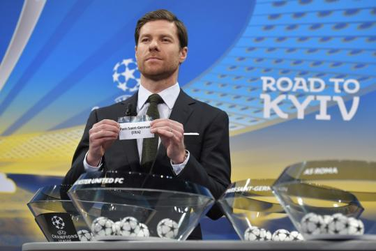 Uefa realiza sorteio das oitavas de finais da Liga dos Campeões.