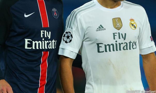 Foot - Illustration Maillot PSG / Real Madrid - Sponsor Fly ... - madeinfoot.com