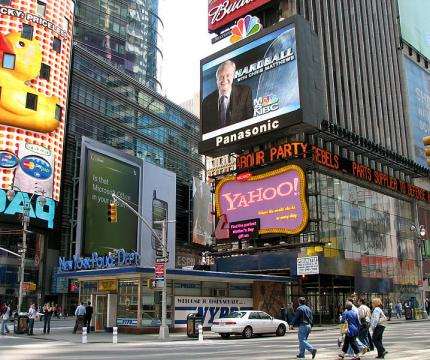 New York City Times Square (Image credit – Norbert Nagel, Wikimedia Commons)
