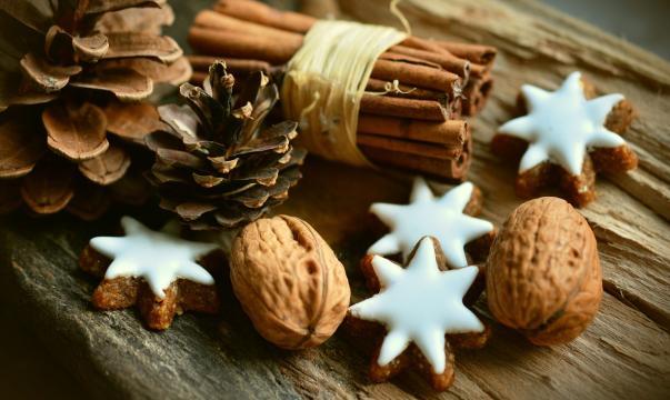 Decoración natural para Navidad