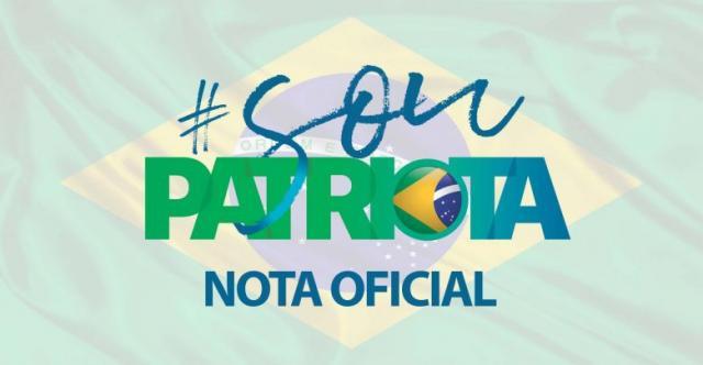 Gutemberg Fonseca não é mais Vice-Presidente do Patriota diz partido desmentindo notícia I Divulgação: Patriotas 51